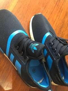 Navy Adidas Sneakers