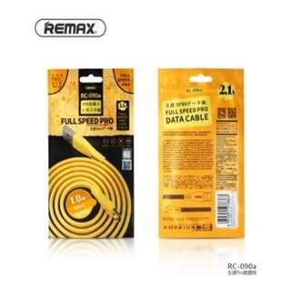 包郵充電線 Remax RC-090a  1.0m Type-c usb quick charge and data cable