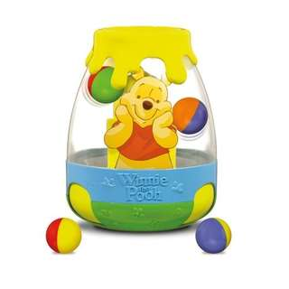 Winnie the pool rolling ball
