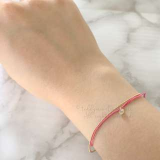 MADE IN KOREA Pink Gold Bracelet 手繩手飾