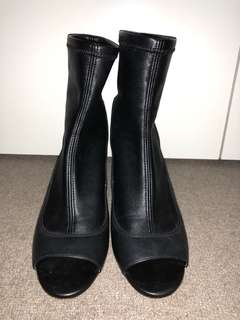 TopShop Boots - Black