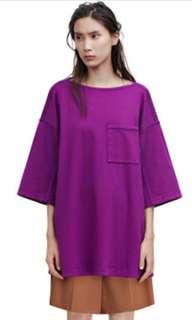 acne studio unisex avery oversized pajama top