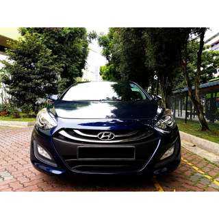 Hyundai i30 1.6 Auto GLS 5dr Sunroof