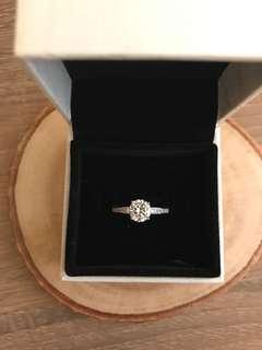 人造鑽石戒指