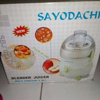 Juicer 4 in 1 sayodachi