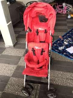 Mini walker tandem/twin/double stroller