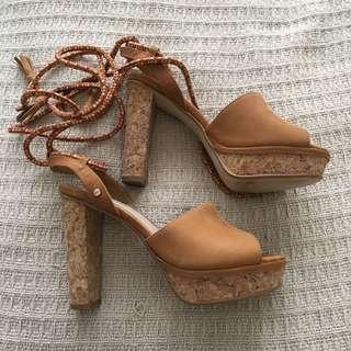 "Mimco ""High Tide"" Platform Heels"