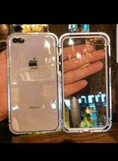 磁吸邊框電話殼 iPhone X/6/7/8 case