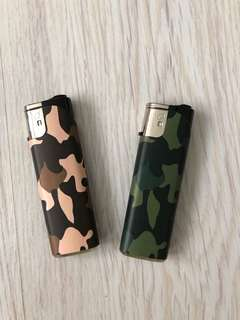 Camo windproof  lighter