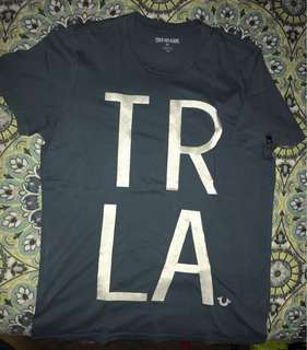 True Religion Tshirt size M made in USA