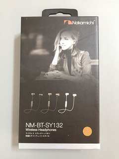 Nakamichi Bluetooth Earphones BNIB