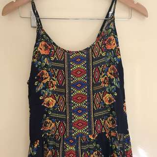 All about eve floral Aztec dress