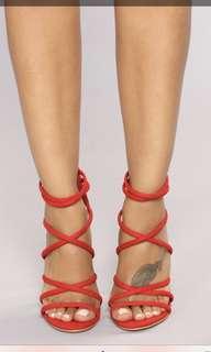 Fashion Nova Roll the Dice Heel