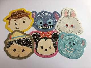 迪士尼貼紙(6張)