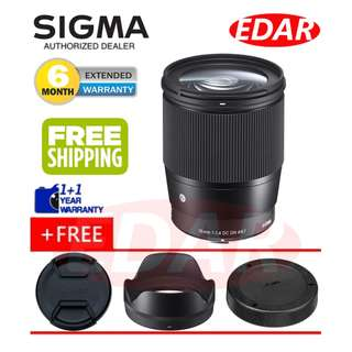 SIGMA 16MM F1.4 DC DN (FOR SONY E-MOUNT LENS) ««ORIGINAL & OFFICIAL SIGMA»»