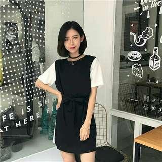 SALE Mini dress hitam import