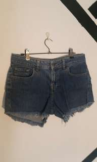 💕 Denim highwaisted shorts