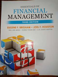 Essentials Of Financial Management, 3rd Edition, by Eugene F. Brigham, Joel F. Houston, et al.