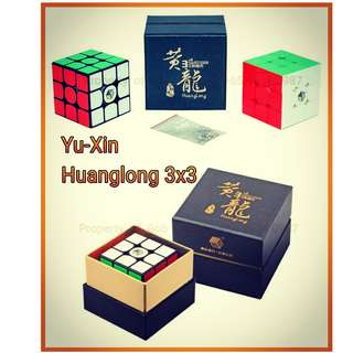 - 裕鑫智胜黄龙三阶魔方 Yu-Xin Huanglong 3x3 for sale in Singapore