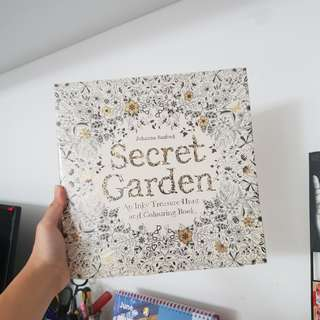 Secret Garden Colouring Book + Faber Castell Colour Pencils