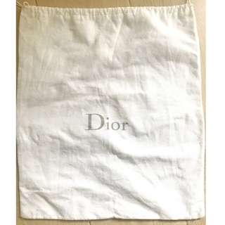Christian Dior white medium dust bag 名牌塵袋