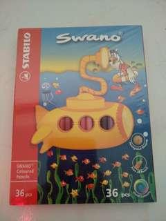 Stabilo-Swano colour pencils (36 pcs)