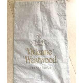 Vivienne Westood grey small dust bag 塵袋