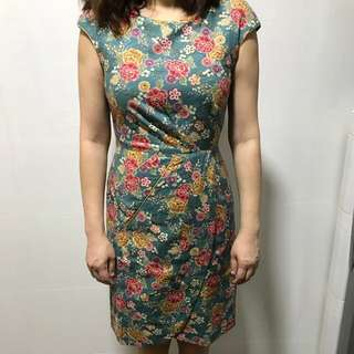Kimono Fabric Dress