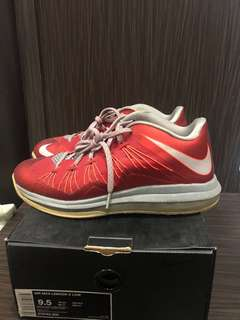 Nike Lebron X Red Varsity Used With Box
