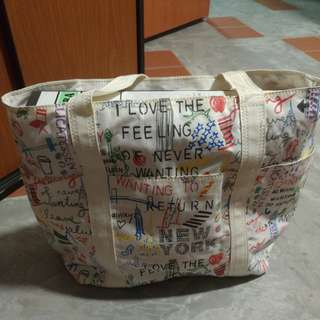 DKNY Shoulder Canvas Bag
