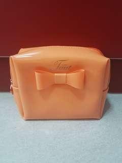 Orange Cosmetic Pouch