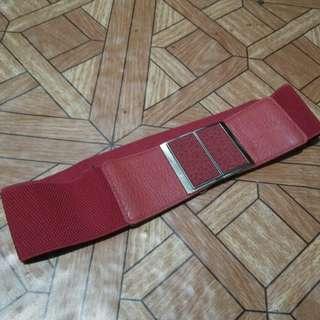 Red Garterized Belt
