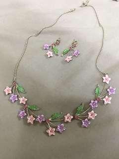 Fancy jewelry set