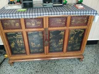 金絲楠木古董櫃