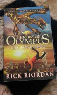The Heroes of Olympus The lost hero