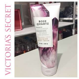 Bath & Body Works Mineral Co ROSE QUARTZ Soothing Body Cream