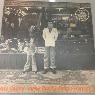 Ian Dury – New Boots And Panties, Vinyl LP , Stiff Records – SEEZ 4, 1977, Australia
