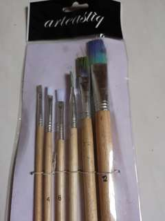 Paint Brushes (Used Once)