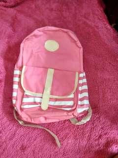 Ransel pink