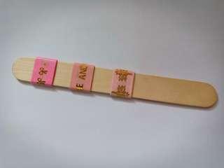 Gold-foiled Washi Tape Sample