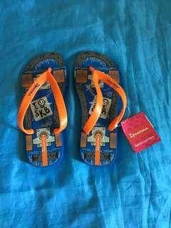 Authentic ipanema slipper for kids, flip flop, sandals skull design