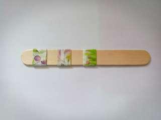 Flower Themed Washi Tape Sample