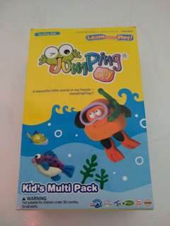 Jumping clay-Kid's Multi Pack