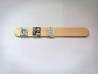 Black & White Washi Tape Sample