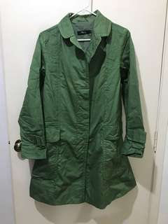 Max Green Trenchcoat