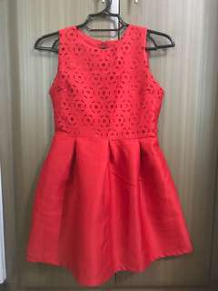 Pre Loved Red Dress