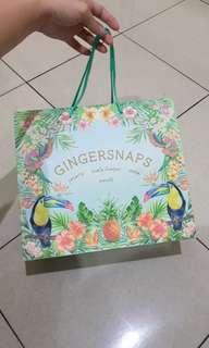 Gingersnaps paperbag