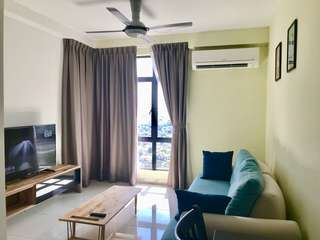 8mins to JB sentral 1bedroom 1 tebrau Condo for rent !