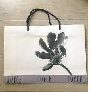JOYCE Boutique medium size shopping bag 名牌購物紙袋