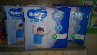 Huggies Dry Diapers XXL